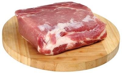 Свинина, карбонад без кости.